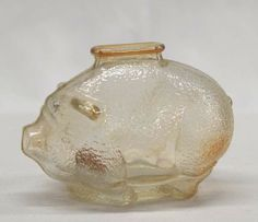 Vintage Carnival Glass Piggy Bank - May 2011 Vintage Toys, Retro Vintage, Vintage Carnival, Vintage Circus, Circus Theme, Circus Party, I Remember When, Oldies But Goodies, Ol Days