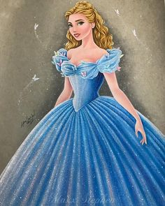 Pin by 🥀 🌹 smiley on disney* disney drawings, cinderella art Disney Princess Drawings, Disney Princess Art, Disney Sketches, Disney Fan Art, Disney Drawings, Disney Style, Cute Disney, Disney Girls, Cinderella Art
