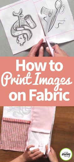 Nicole LaFoille teaches you how to print images on fabric to make something truly unique and personalized. First, make sure to read your printer manual and determine if your model has the manual feed function, which prints straight from the front of the printer to the back. Also, make sure it can handle thicker media. Then Nicole shows you how to prepare your fabric for printing line art, text and photos on different types of printers.