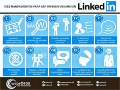 El Espacio Geek: 10 mandamientos para ser un buen usuario de Linkedin