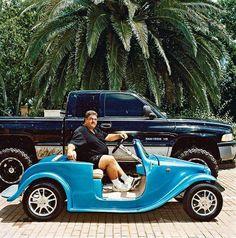 Tricked-Out Golf Carts Swarm Florida Communities Golf Pride Grips, Golf Club Grips, Golf Cart Parts, Golf Gps Watch, Custom Golf Carts, Golf Apps, Augusta Golf, Golf Cart Accessories, Golf Course Reviews