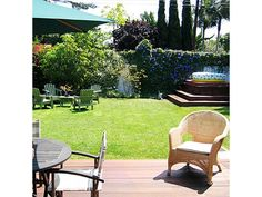 backyard idea - Home and Garden Design Idea's