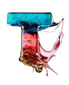 Alfabeto en caramelo por Massimo Gammacurta ⋮ Pixelismo