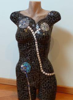 Mosaic mannequin