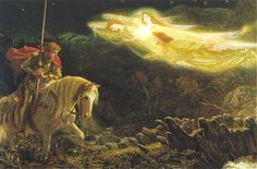 "*""Sir Galahad"" by Arthur Hughes"