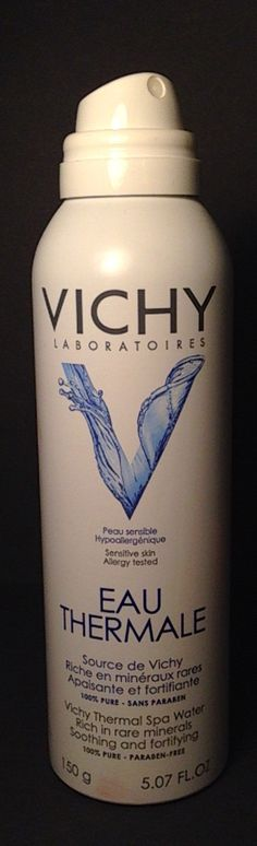 Vichy Mineralizing Thermal Water Spray Rich in 15 Minerals Makeup For Sale, Spa Water, Face Mist, Water Spray, Alcohol Free, Natural Skin, Allergies, Sensitive Skin, Beauty Tips