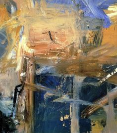 Willem de Kooning (Dutch American 1904–1997) [Abstract Expressionism] Palisade (1957).
