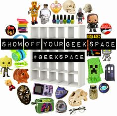 The Nerdy Girlie: Show Off Your Geek Space: The Nerdy Girlie