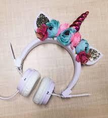 Image result for unicorn headphones