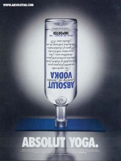 I don't like the combination, but have to love the idea. From absolutad.com