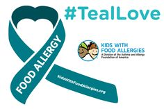 Show You #TealLove Someone with Food Allergies