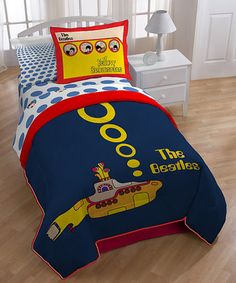 Look what I found on #zulily! The Beatles Yellow Submarine Comforter #zulilyfinds