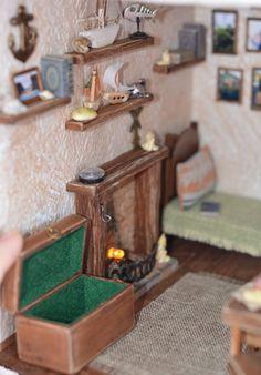 Дом у маяка.. – 35 фотографий Lighthouse, Miniature, Furniture, Home Decor, Bell Rock Lighthouse, Light House, Miniatures, Interior Design, Home Interior Design