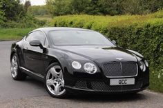 Used 2011 ( reg) Black Bentley Continental Gt COUPE MULLINER DRIVING SPEC for sale on RAC Cars
