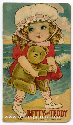Betty and Teddy | Helen C. CHROMOLITHOGRAPHS Dods