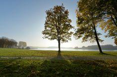Zonsopkomst rekreatieplas Bussloo bij Apeldoorn