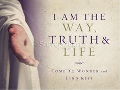 I am the Way Truth and Life PowerPoint Graphic - John 14:6