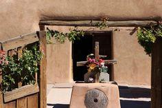 El Santuario de Chimayo, New Mexico: Land of Enchantment - Quaking Aspen Fine Art - Photo © Leslie Bucklin