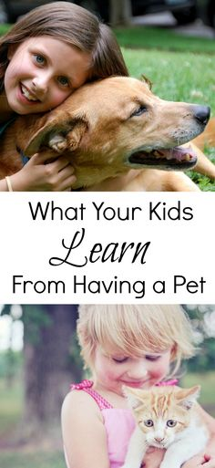 I love animals (as we all know) & think they are an integral part of growing up & this guest post by Emma explains what your kids learn from having a pet?