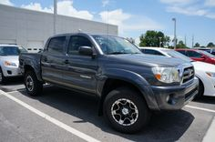 Our Orlando used trucks are perfect for football season - whether you're tailgating or playing in the game, they've got you covered! Take this used Toyota Tacoma for a spin today!   http://blog.toyotaoforlando.com/2014/07/orlando-used-cars-ready-football-season/