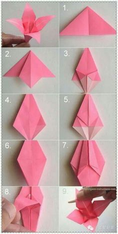 DIY Paper Origami Lily Vintage Wedding Corsages & Boutonnières DIY Origami 4 Petal Lily Boutonnierre Source by takkaya The post DIY Paper Origami Lily Vintage Wedding Corsages & Boutonnières appeared first on Best Of Likes Share. DIY Paper Origami diy c Origami Lily, Instruções Origami, Origami And Kirigami, Origami Butterfly, Origami Ideas, Origami White, Origami Bookmark, Origami Folding, Origami Claws