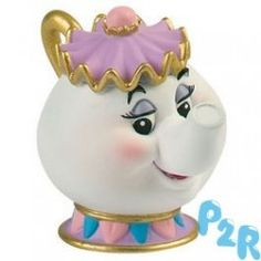 "Figura Mrs. Potts "" Bela E O Monstro """