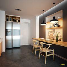Kitchen - TD Apartment on Behance