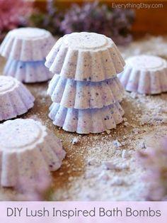 Lush Inspired Bath Bomb Recipe - EverythingEtsy.com