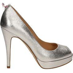 MICHAEL KORS SANDALES YORK PLATFORM ARGENT - Chaussures michael kors (*Partner-Link)