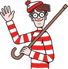 Extreme&Hard: Where is Waldo ! Where's Waldo Pictures, Funny Pictures, Wo Ist Walter, Ou Est Charlie, Pebble Painting, Rock Painting, Wheres Wally, Master Of Puppets, Diamond Drawing
