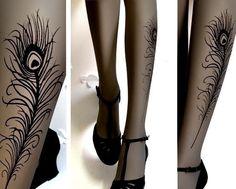 peacock stockings