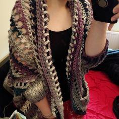 The Dwell Sweater Crochet pattern by Jess Coppom Make & Do Crew Fast Crochet, Crochet Fall, Christmas Knitting Patterns, Crochet Patterns, Weekender, Make And Do Crew, Dress Gloves, Paintbox Yarn, Yarn Brands