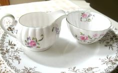 Vintage Tuscan Creamer and Sugar  english by Vintagegirlsfinds, $19.00 Mother's Day Sale ~ Take 10% off your entire purchase Monday 5/5 only.