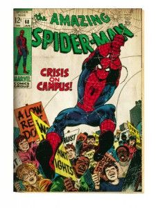 spiderman_lamina_poster_retro_decoracion