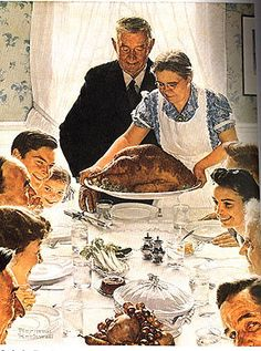 First Thanksgiving in America | michel barbot thanksgiving