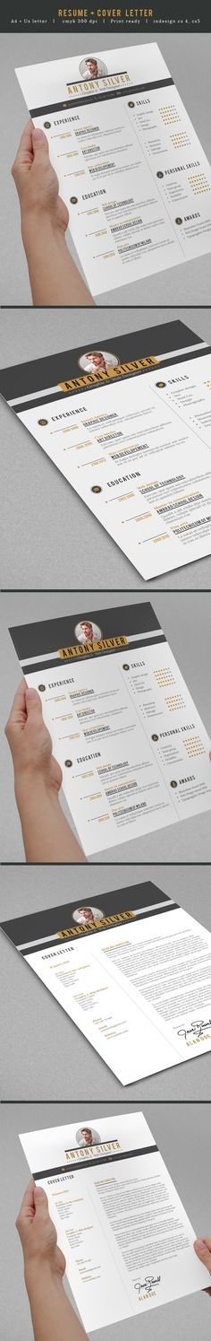 Clean cut resume with some style to it