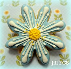 Funky Cookie Studio/Jill FCS a gorgeously decorated cookie.