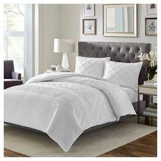 Mosaic Comforter Set White - Stone Cottage¨ : Target