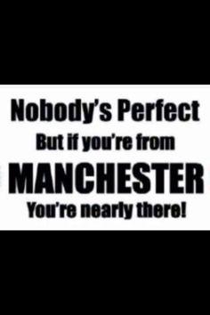 Image result for Manc commandment I Love Manchester, Manchester Football, Manchester England, Alabama Football, American Football, College Football, I Love Mcr, Eric Cantona, Nobodys Perfect