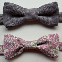Make your undoubtably dapper and lovable partner in crime a piece of clothing they will actually care about. Sew these DIY bow ties using the fabric of your choice. These are a great gift idea for your guy!