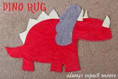 Tutorial: Dinosaur Rug