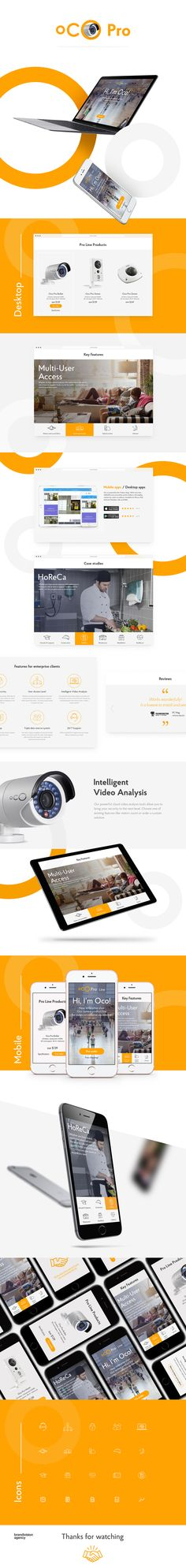 Landing page for the OCO