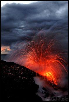 The Storm - Volcano Hawaii