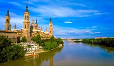 Discover some of Spain's most beautiful cities, including Valencia, Zaragoza and Barcelona in 4 days from Madrid. On a sightseeing tour of Valencia, see the City of Arts and Sciences (Ciudad de las Artes y de las Ciencias) as well as other top attrac Europe Group Tours, Day Tours, Places Around The World, Around The Worlds, Valencia City, Most Beautiful Cities, Spain Travel, Travel Europe, Madrid