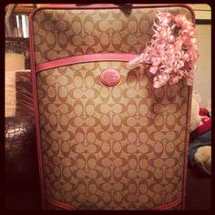My coach suitcase!
