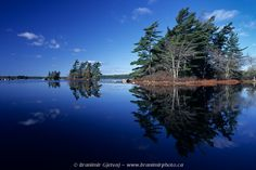 KEJIMKUJIK NATIONAL PARK | Reflection on a lake (Nova Scotia)