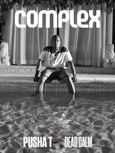 Complex Magazine Digital Cover - Pusha T