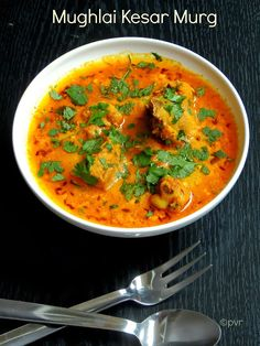 Mughlai Kesar Murg /Saffron Chicken