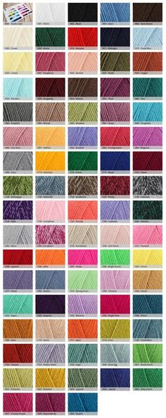 Stylecraft Special DK Yarn £1.79 - $2.22USD Wool warehouse. (affiliate)