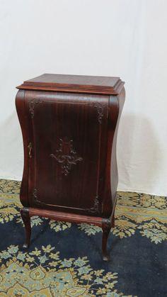 Antique Music Cabinet Mahogany